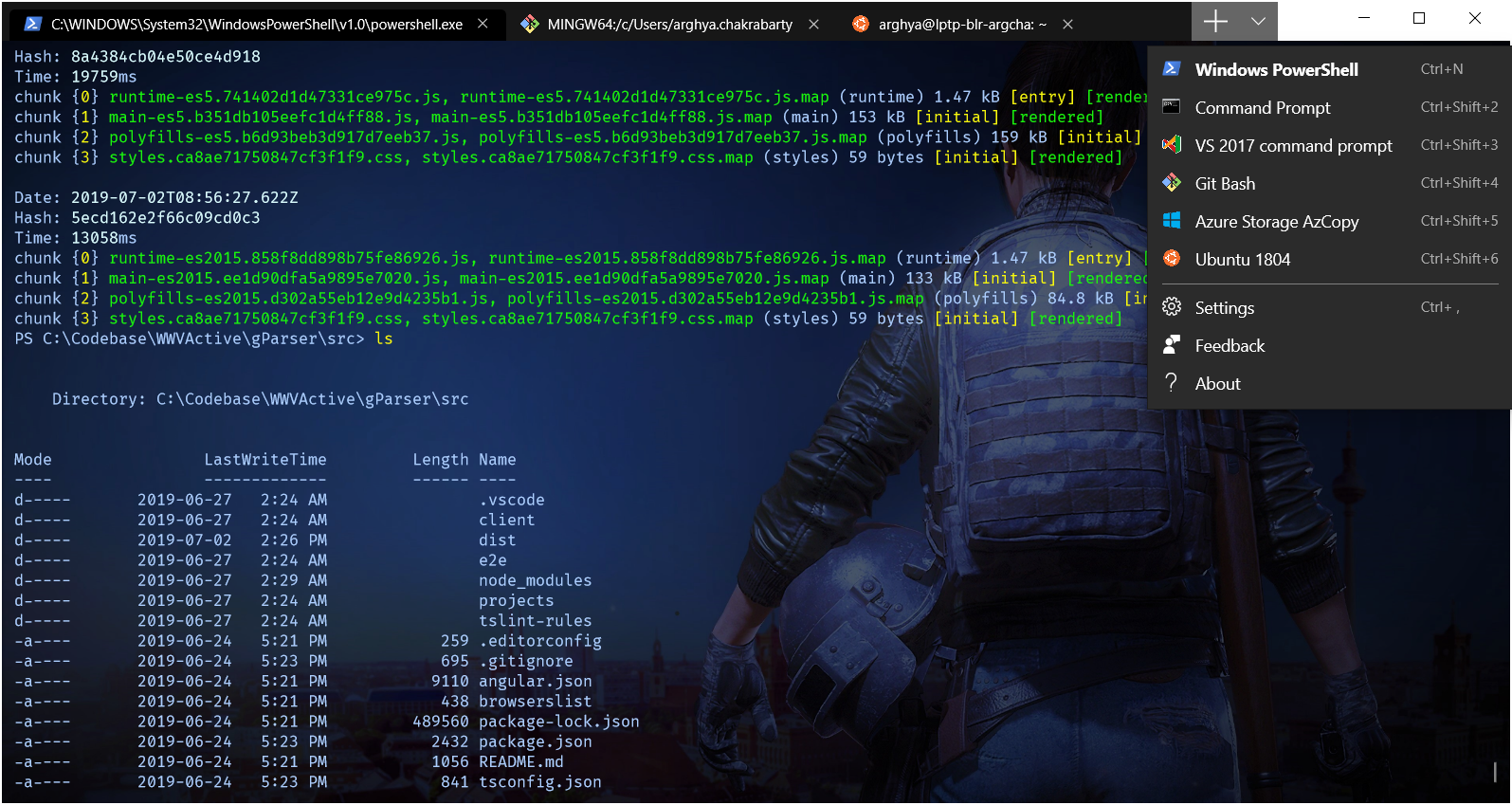 The great new Windows 10 Terminal – AC's Notes
