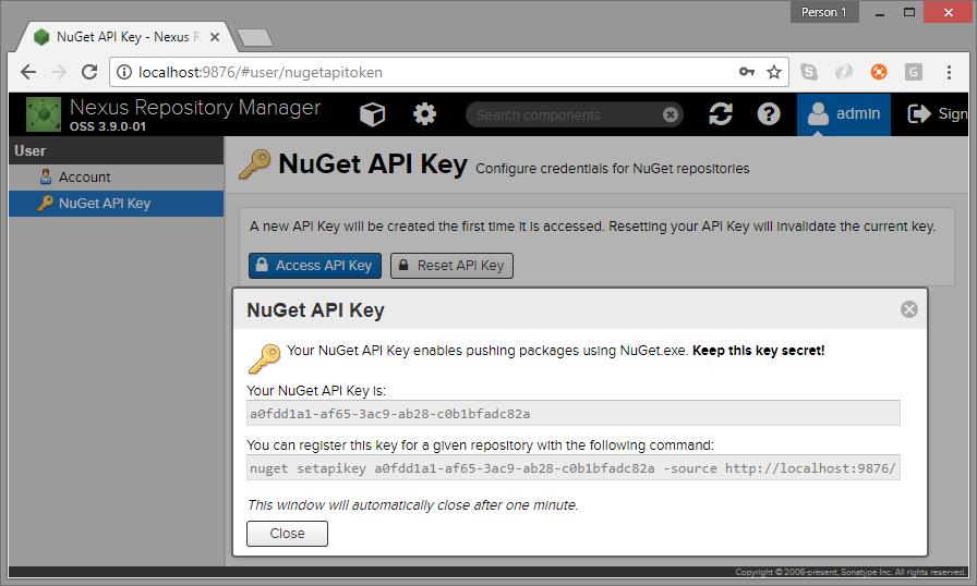 Nexus artifact repository for  NET – AC's Notes
